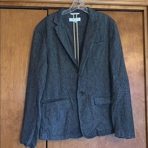 Rag and Bone Unstructured Herringbone Jacket